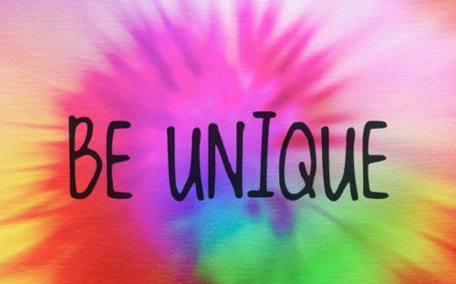 Little Purple Flower: Be Yourself, Everyone else is taken