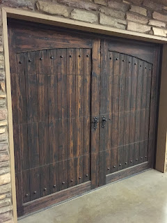 Antique Wood Garage Doors