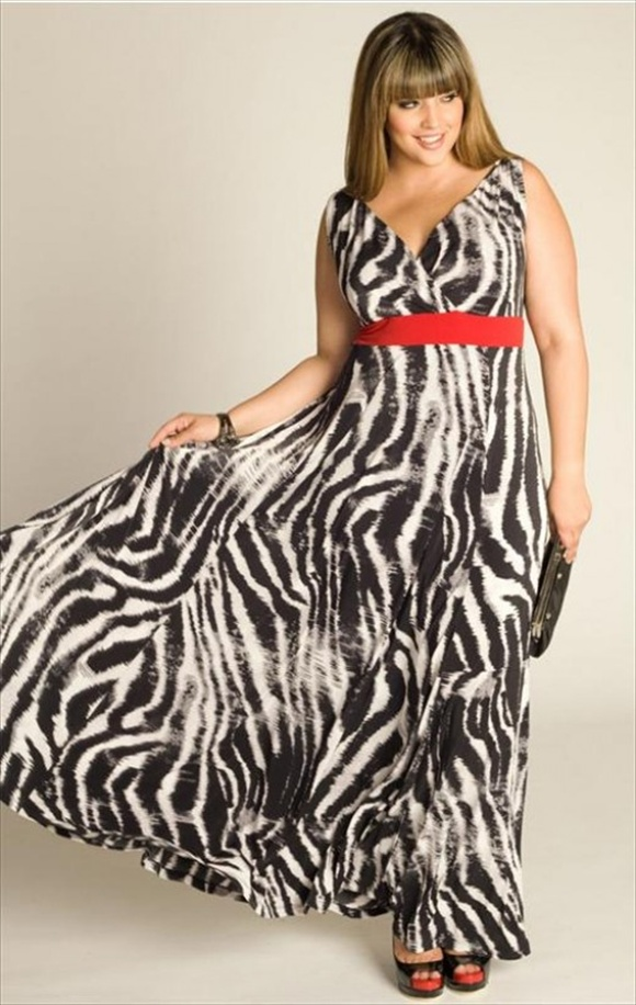 maxi dresses plus size