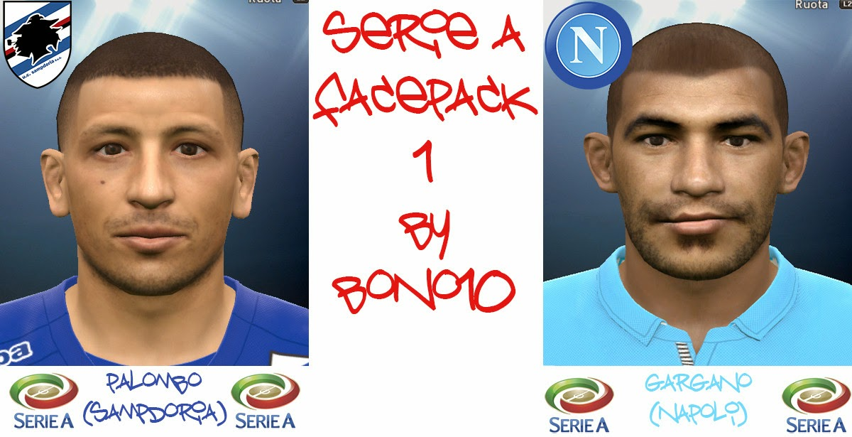 PES 2015 Serie A Facepack 1 by bono