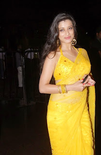 special for all: Madhurima Hot Navel In Yellow Transparent ...
