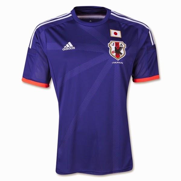 Jersey Negara Jepang - Piala Dunia 2014