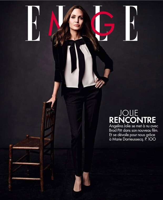 Angelina Jolie in Elle France