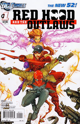 Red Hood and the Outlaws Issue #1 Cover Artwork