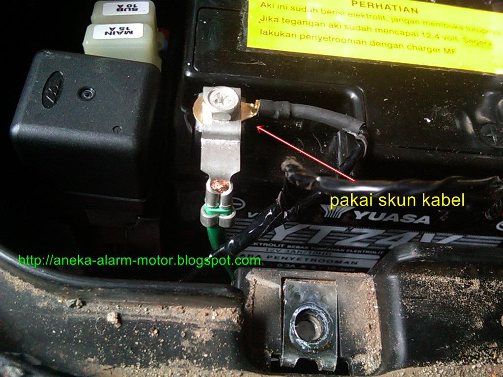 Aneka Alarm Motor Langkah Dan Cara Pasang System Remote X Case Lengkap Panduan Pemasangan Berbahasa Indonesia