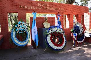 Dominicanos en Guatemala recuerdan a Duarte