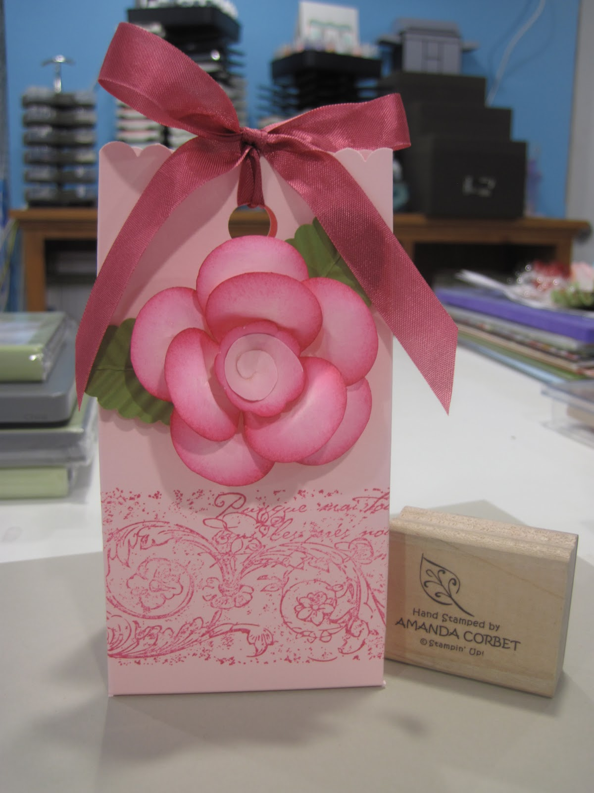 Owl Punch Rose Box