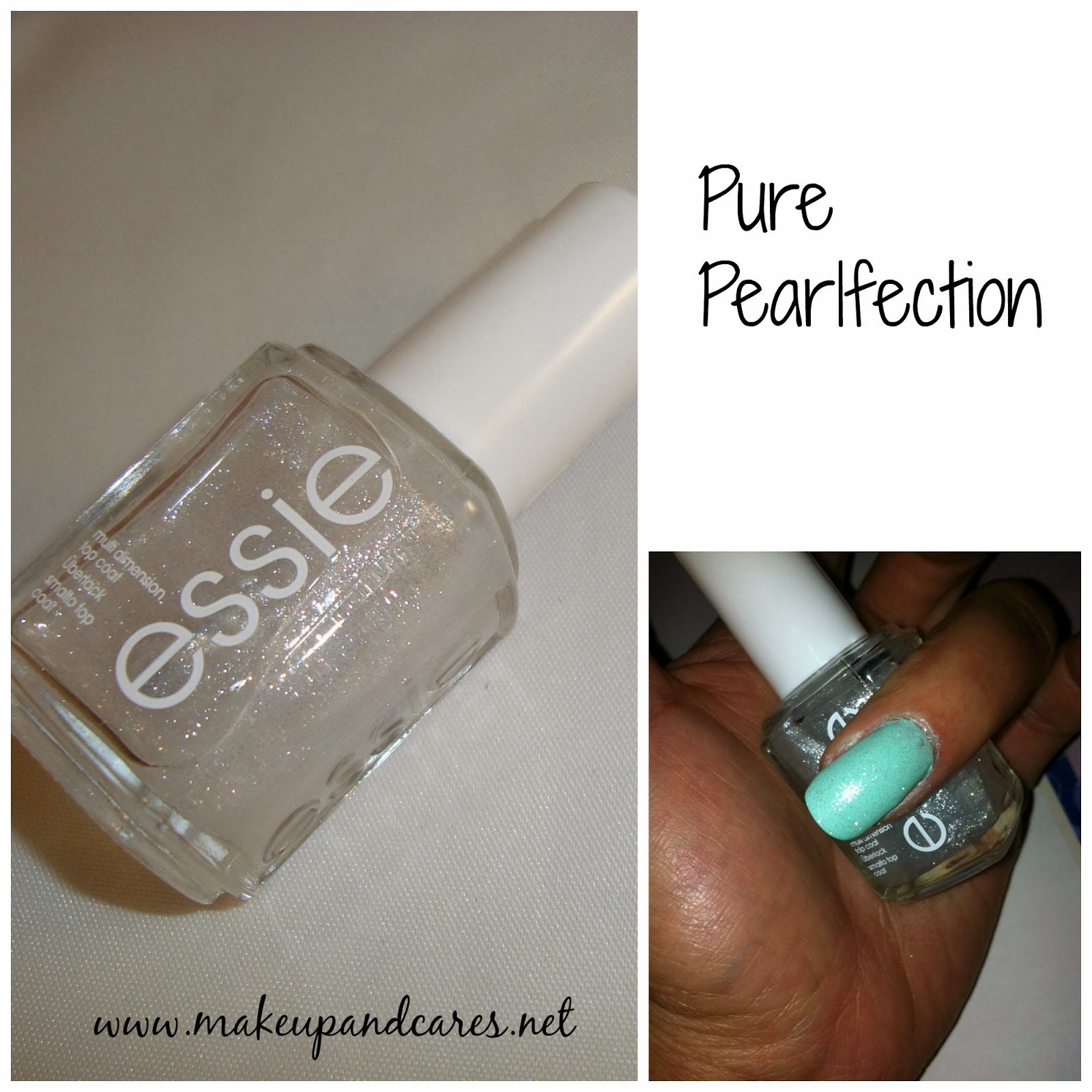 Nailstime . Luxeffects de Essie .   Makeup and Cares