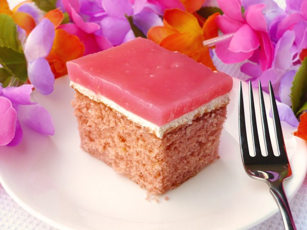 Hawaiian Guava Chiffon Cake Recipe