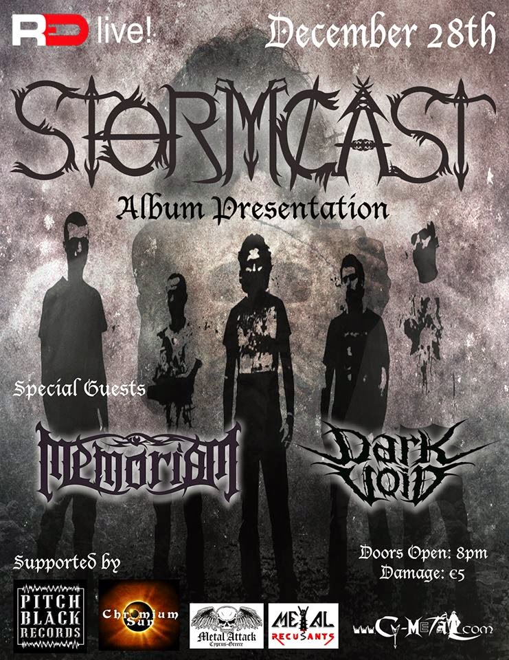 Stormcast, album presentation - Memoriam - Dark Void