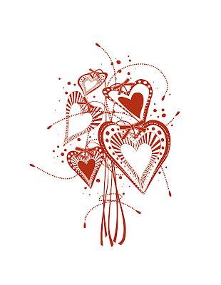 картинки фон сердца