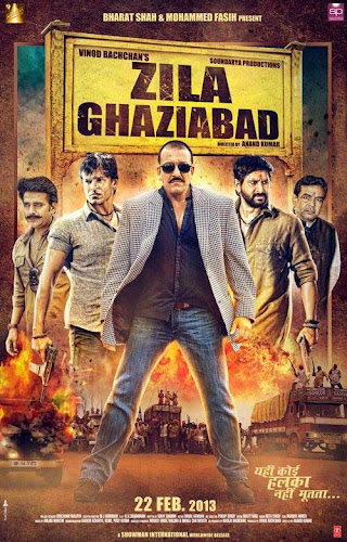 Zila Ghaziabad (2013) Movie Poster