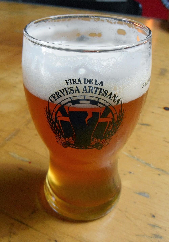 vaso de la feria de cerveza