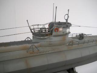 vela del submarino VII-D minenleger