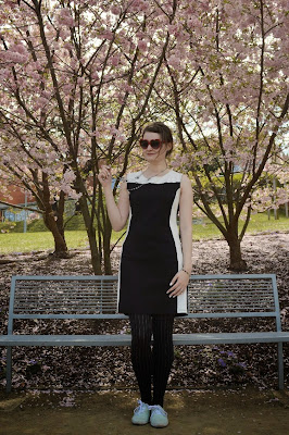 quaintrelle, georgiana, quaint, outfit, ootd, cherry blossoms
