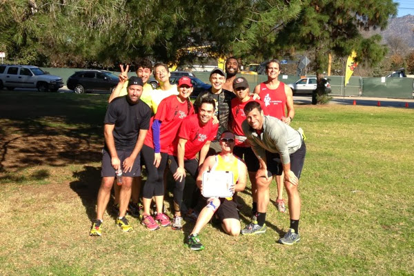 T2 Team to End AIDS runners after 17 miles