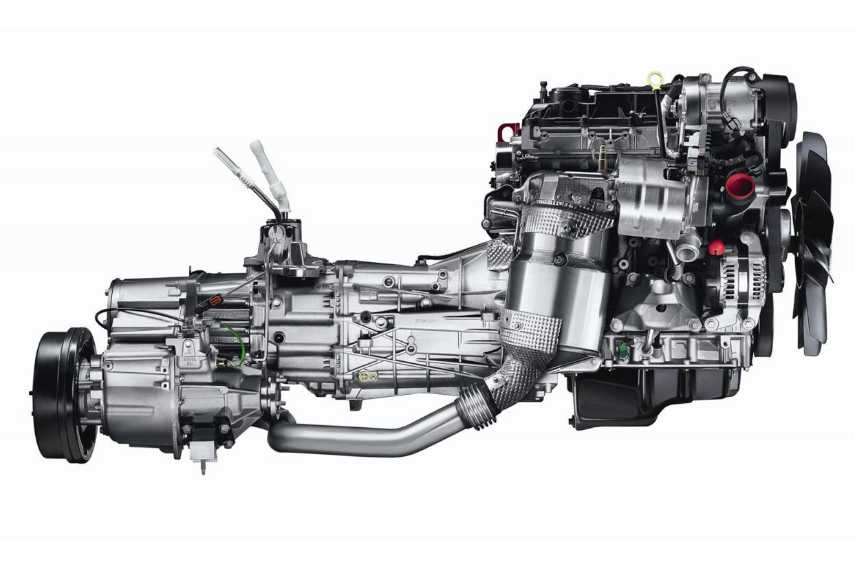 Defender gets new engine autoesque for New motor and transmission