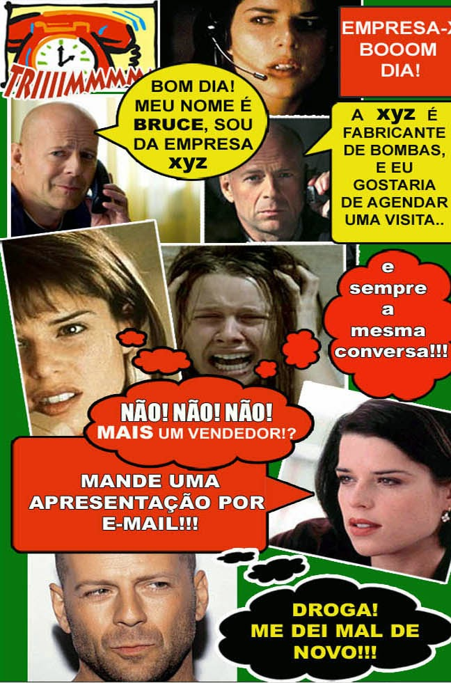 mande uma apresentação por e-mail! Como ultrapassar essa barreira? Dicas de Prospecção no www.dicasdamyrian.blog.br