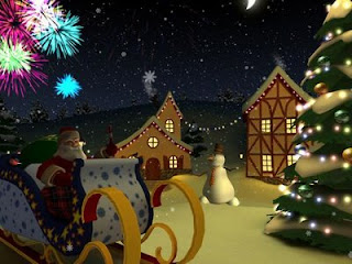 Animation Based Christmas Wallpapers