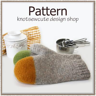 Knotsewcute Design Shop New Crochet Pattern Colour Dipped Oven