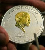 Barack H Obama Trillion Dollar Coin