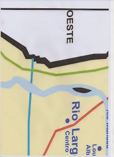 mapa de Rio Largo