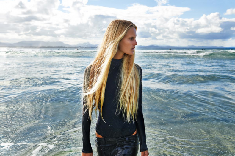 hanalei reponty,kane skennar,mark magazine,surfer girl