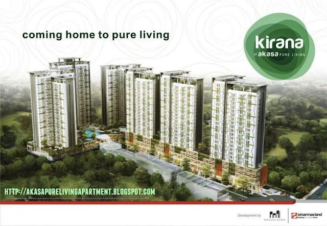 Akasa Pure Living Apartment BSD