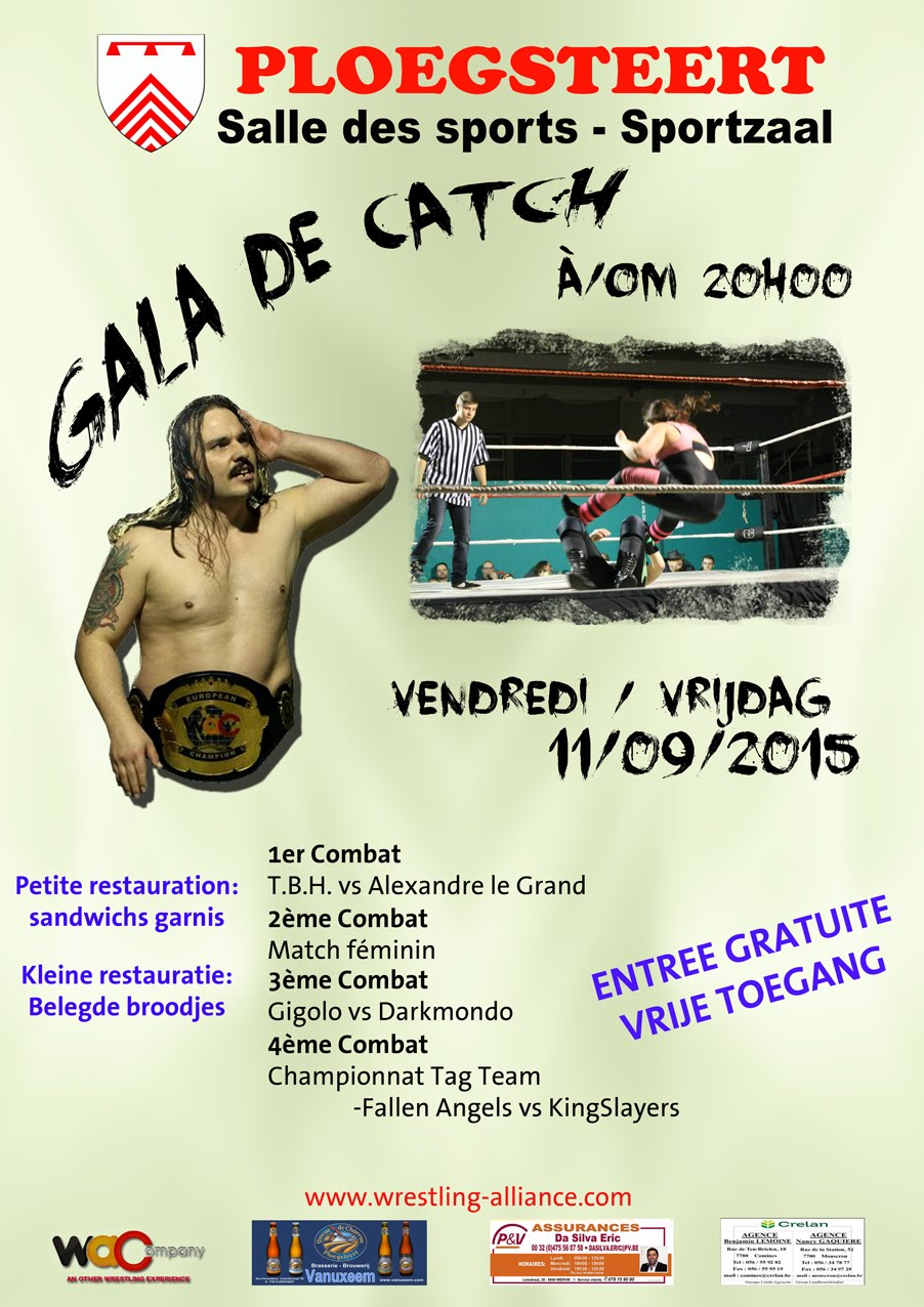 11 septembre GALA DE CATCH