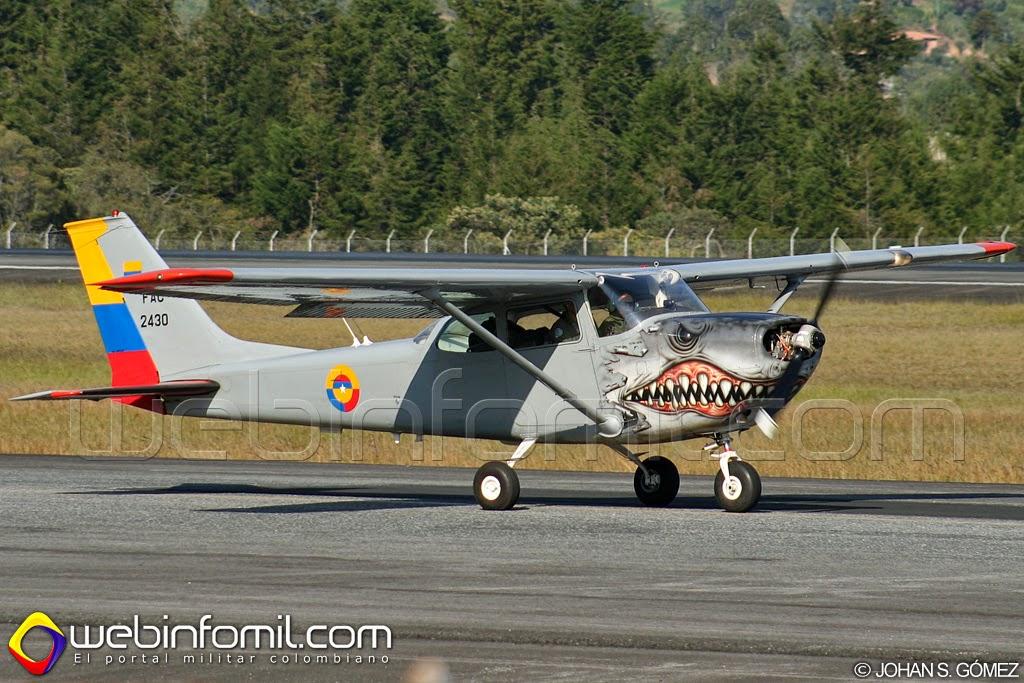 T-41 mescalero Fuerza Aérea Colombiana FAC2430