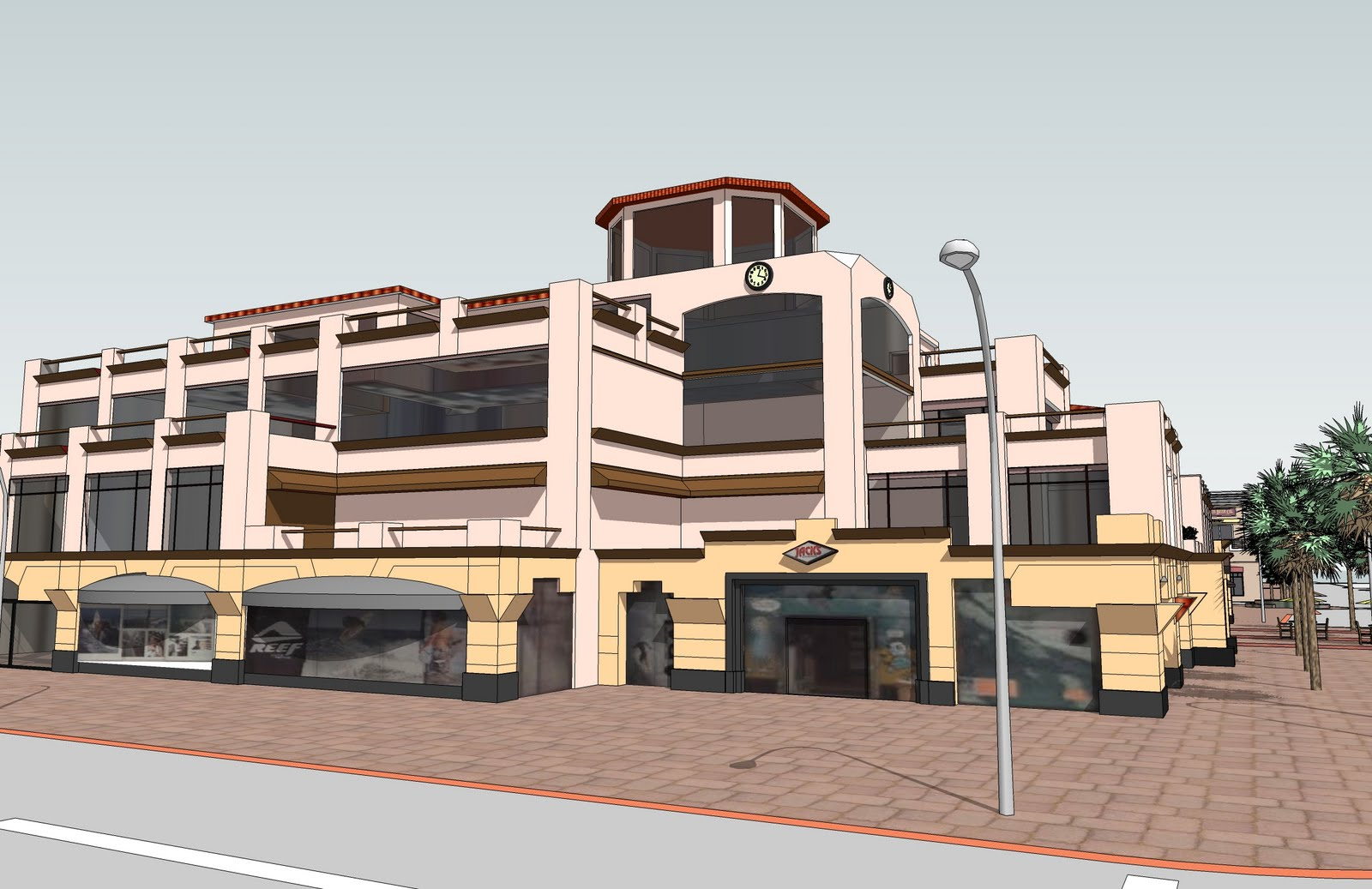 My sketchup for Sketchup building