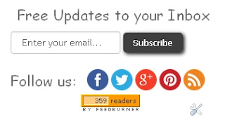 Modifikasi Widget Subscribe dan Sosial Media