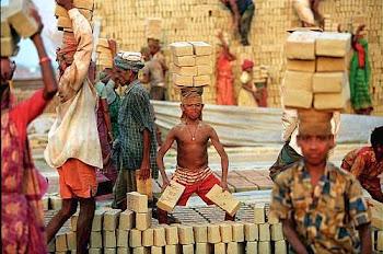 Baby worker in Bangladesh