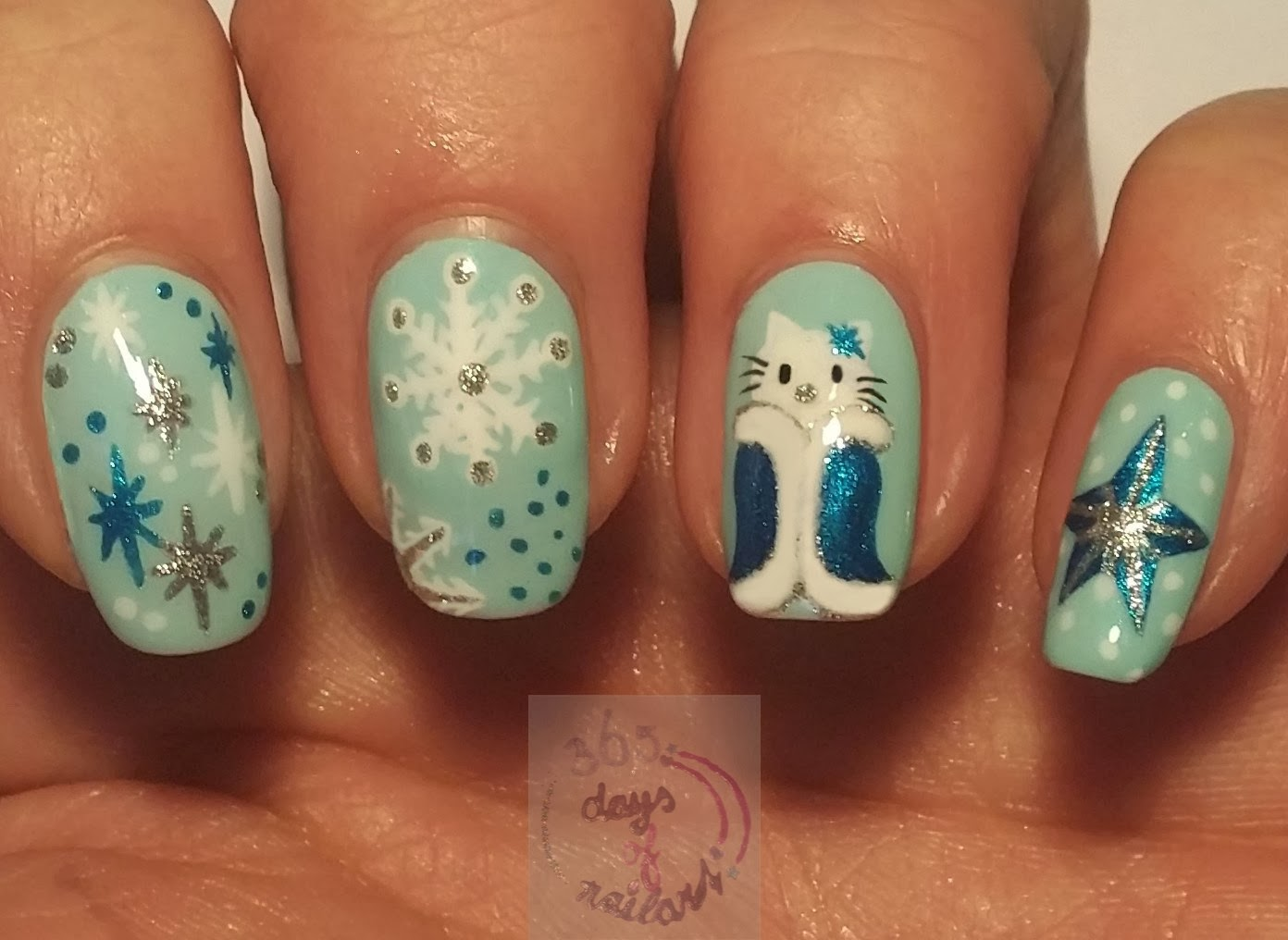 The Enchanting Easy hello kitty nail art designs Picture