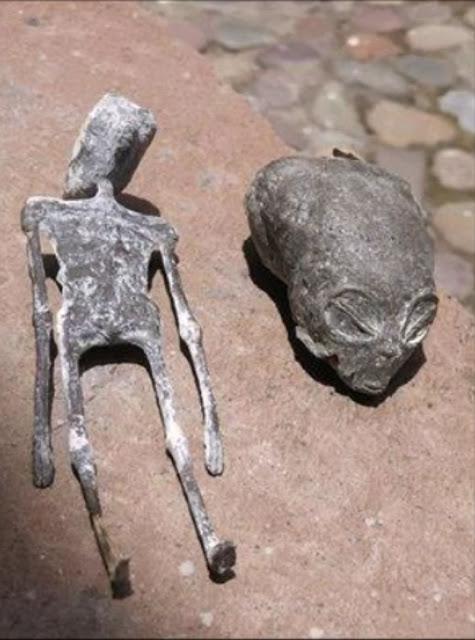 """A """"Crâne étranger"""" se trouve dans une grotte dans le désert du sud du Pérou"""