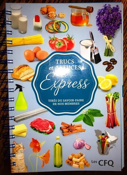 Le tout dernier livre des CFQ  Trucs et astuce Express
