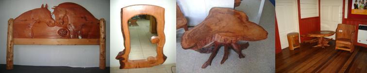 Muebles de Alerce Rustico
