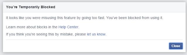 Bila Facebook Bagi Amaran