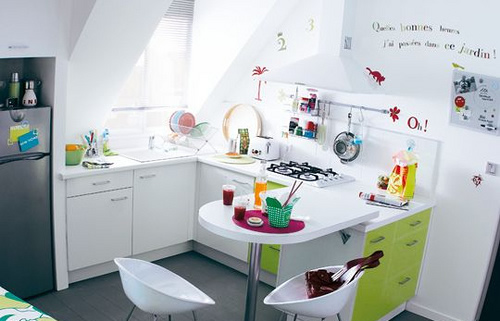 Minha casa sua casa cozinha pequena vamos nos for Decoracion para cocinas muy pequenas