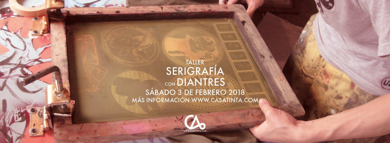 SERIGRAFÍA // 3 de feb