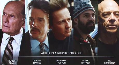 лучшее исполнение роли второго плана  Оскар 2015