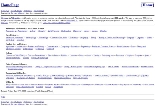 Tampilan Awal Website-Website Terkenal Di Dunia