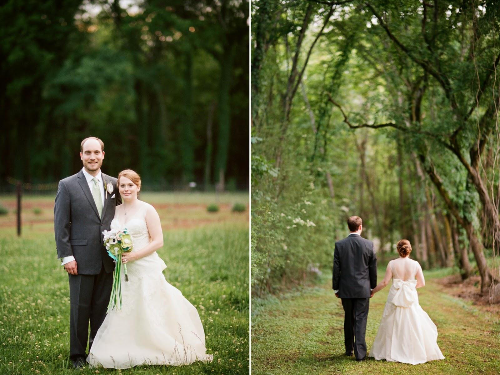 Wedding Portrait 1818 Farms Mooresville