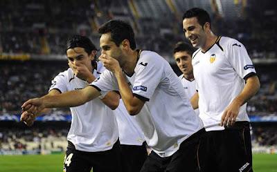 Valencia 7 - 0 Racing Genk (1)
