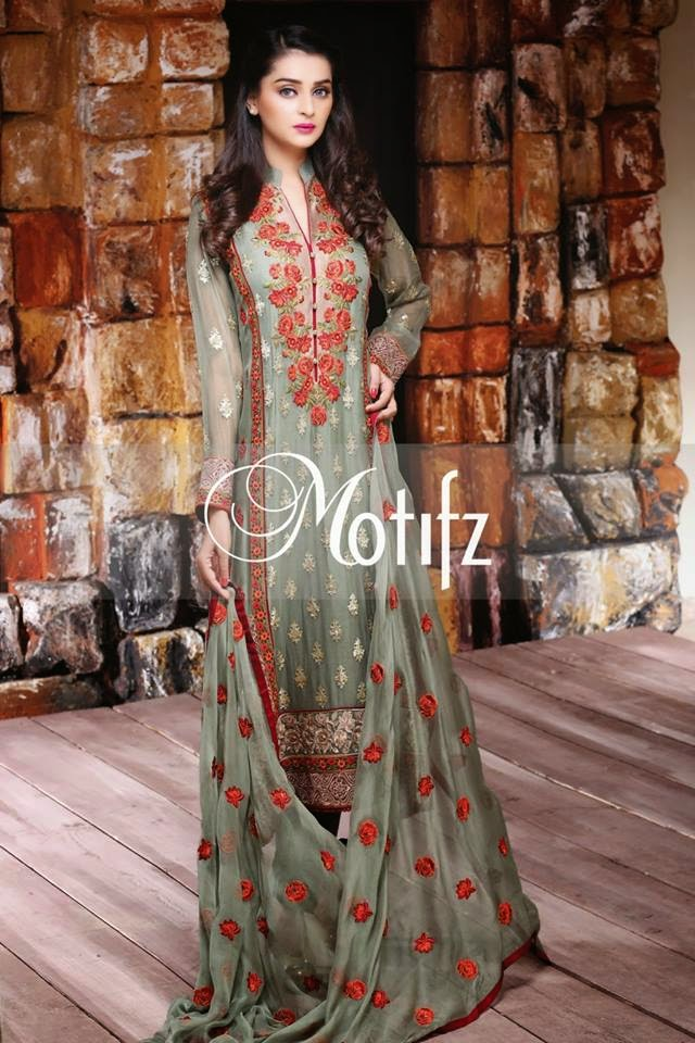 Motifz Spring Chiffon Dress 2015