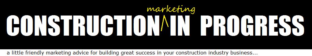 Construction Marketing In Progress