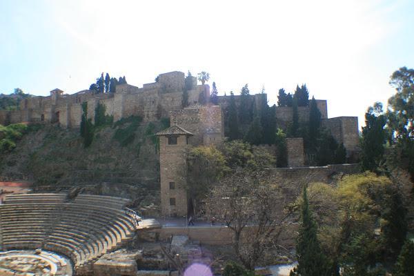 MÁLAGA - la Alcazaba