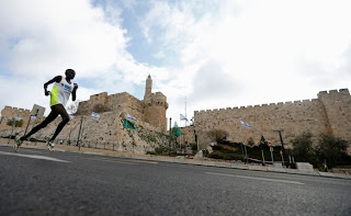 Photo of International Jerusalem Marathon.