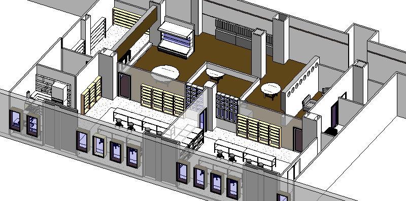 revit for interior design class schematic model images. Black Bedroom Furniture Sets. Home Design Ideas