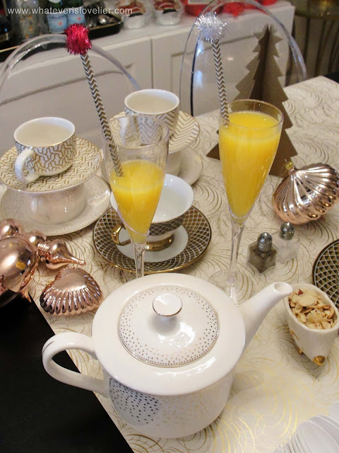 Breakfast for Tea: A Holiday Tea Party